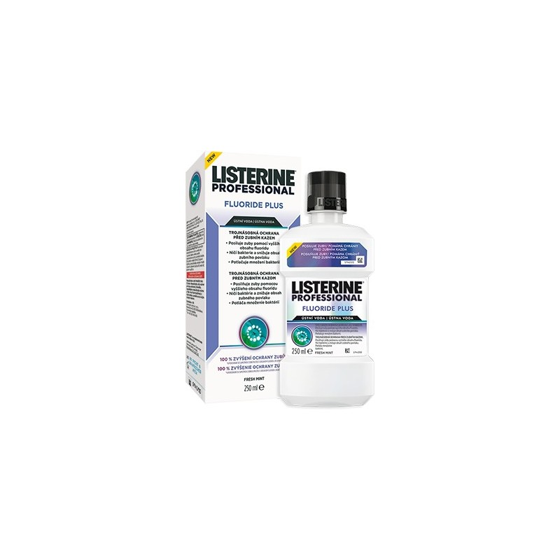 Listerine Professional Fluoride Plus, 250ml