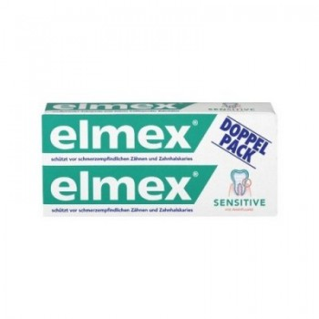 Elmex Sensitive zubná pasta 2x75ml