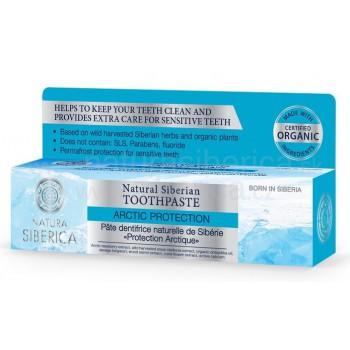 Prírodná sibírska zubná pasta - Arktická ochrana Natura siberica 100ml