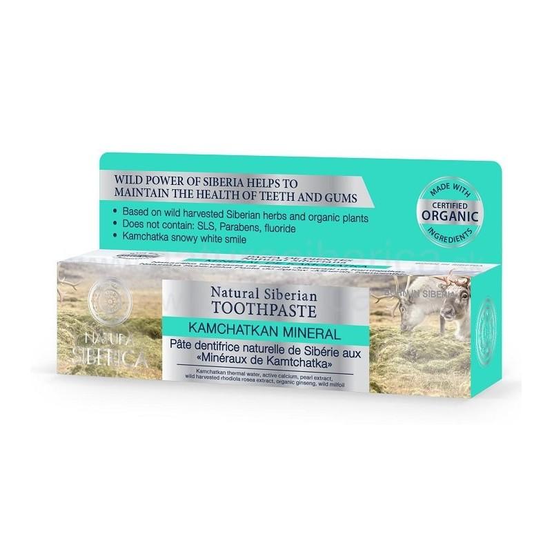 Prírodná sibírska zubná pasta - Kamčatský minerál 100ml