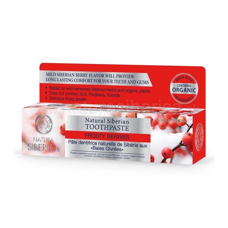 Prírodná sibírska zubná pasta - Zmrznuté bobule 100ml