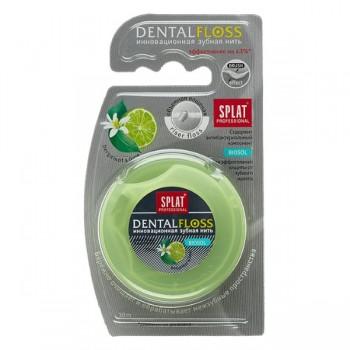 Splat Professional Expandujúca 3D zubná niť BERGAMONT A LIMETKA, 30m