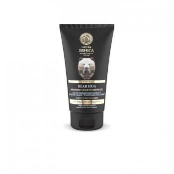NS MEN prebúdzajúci pleťový gél na umývanie pleti Medvedí Stisk ,150ml