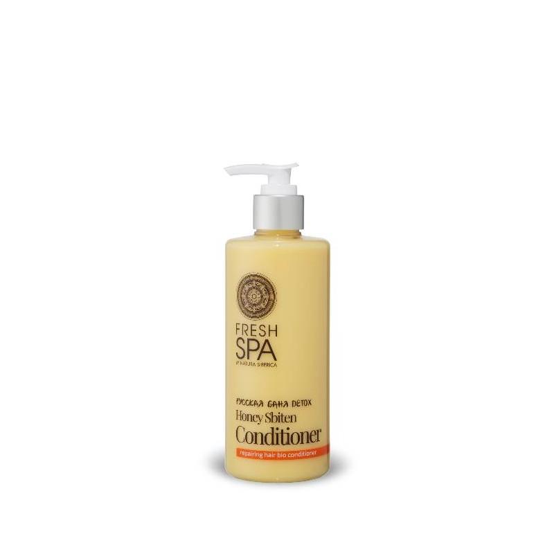 FS Russkaja Bania Detox Prírodný medový kondicionér pre obnovu z ničených vlasov,300ml