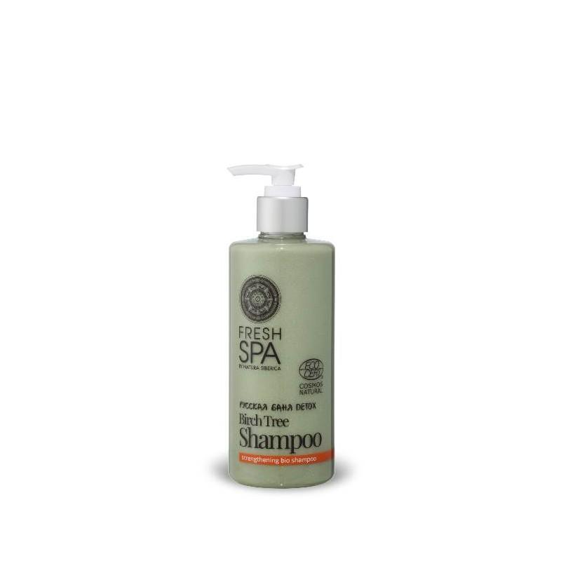 FS Russkaja bania Detox Prírodný posilňujúci šampón Breza,300ml