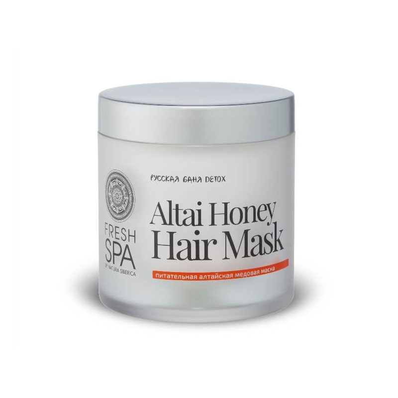 FS Russkaja Bania Detox Výživná vlasová maska Altajský med,400ml