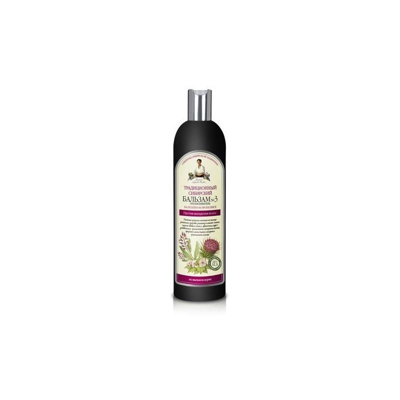 Recepty Babušky Agafii šampón proti vypadávaniu vlasov