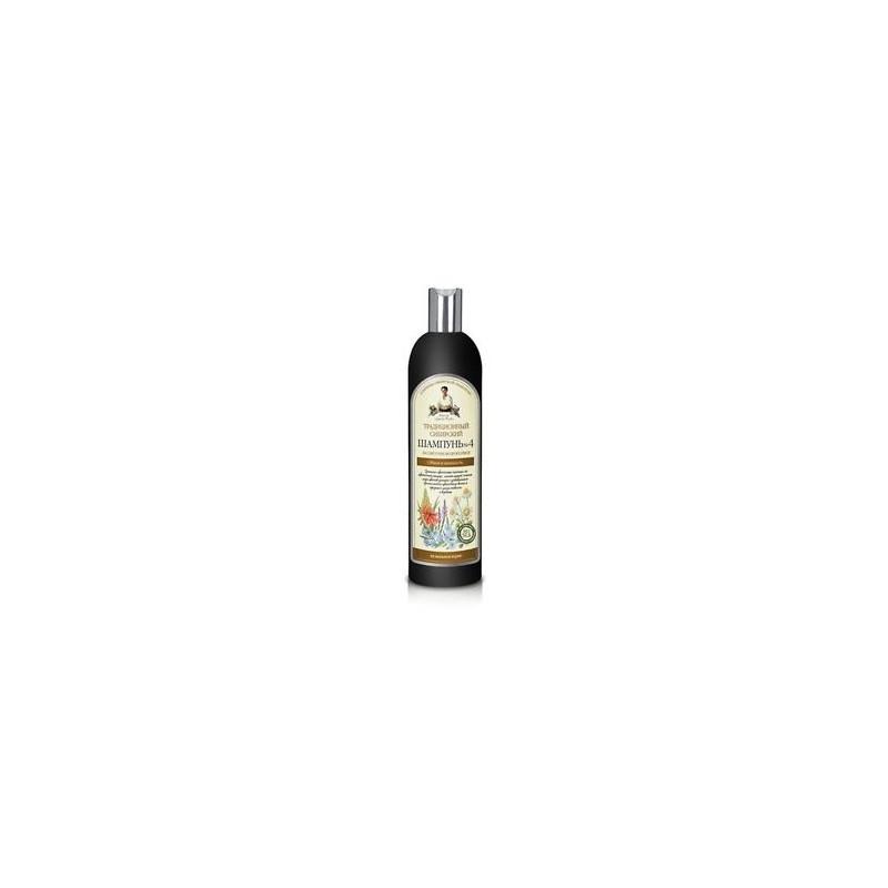 Recepty Babušky Agafii šampón pre objem vlasov