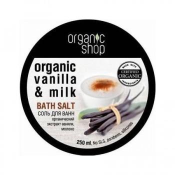 Soľ do kúpeľa Vanilkové Mlieko 250ml