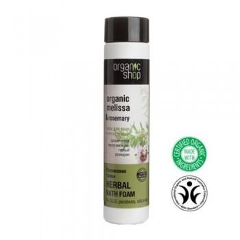 Pena do kúpeľa pre zvýšenie elasticity pokožky Bylinky z Provence 500ml