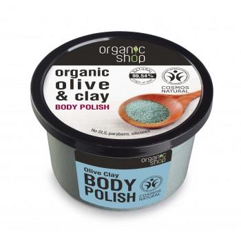 Telový polish Olivový Íl 250ml