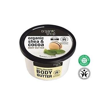 Telové maslo Biela Čokoláda 250ml