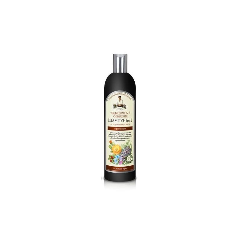 Tradičný sibírsky šampón na vlasy No 1 – posilňujúci