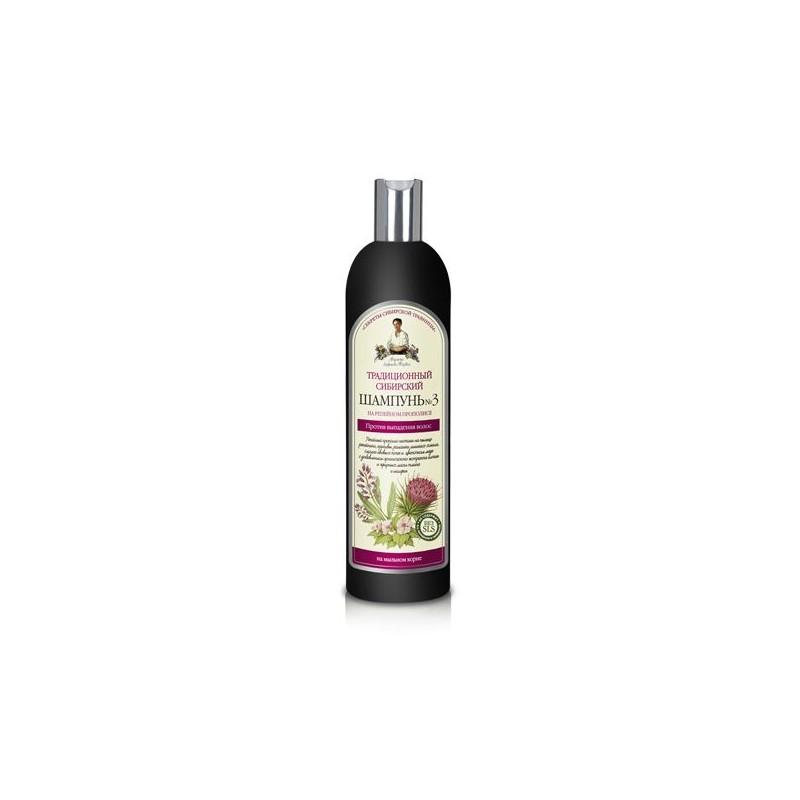 Tradičný sibírsky šampónč. 3 s lopúchovým propolisom proti vypadávaniu vlasov. Recepty Babušky Agafii