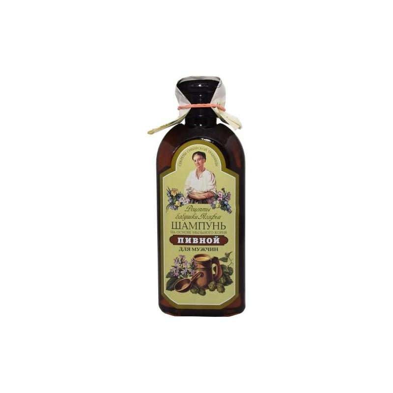 Pivný šampón proti vypadávaniu vlasov Recepty Babučky Agafii
