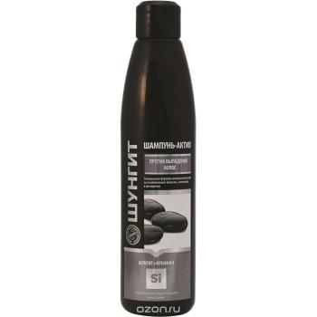 Šungitový šampón-Aktiv , proti vypadávaniu vlasov, s kremíkom