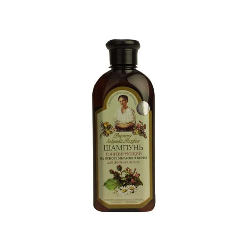 BABIČKA AGAFIA Tonizujúci šampón 350ml