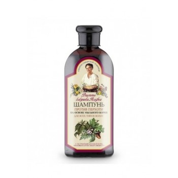 Babička Agafa Šampón proti lupinám, pre všetky typy vlasov 350 ml