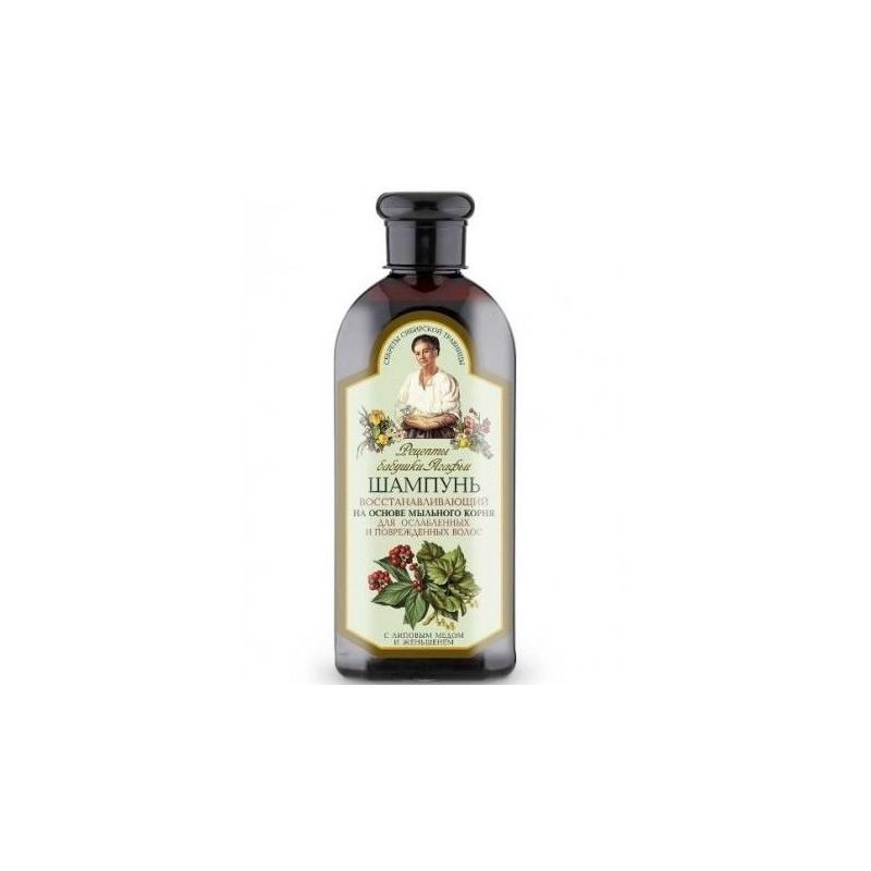 Babička Agafa regeneračný šampón pre slabé a zničené vlasy 350 ml