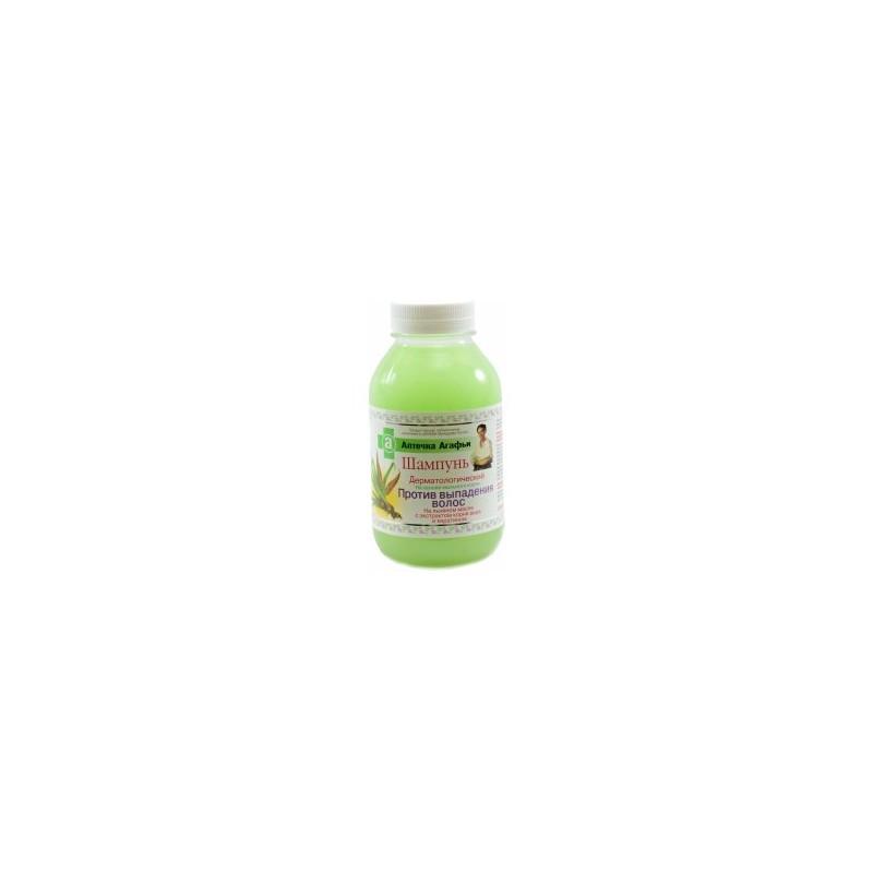Babička Agafa dermatologický šampón na základe mydlice lékarskej proti vypadávaniu vlasov 300 ml