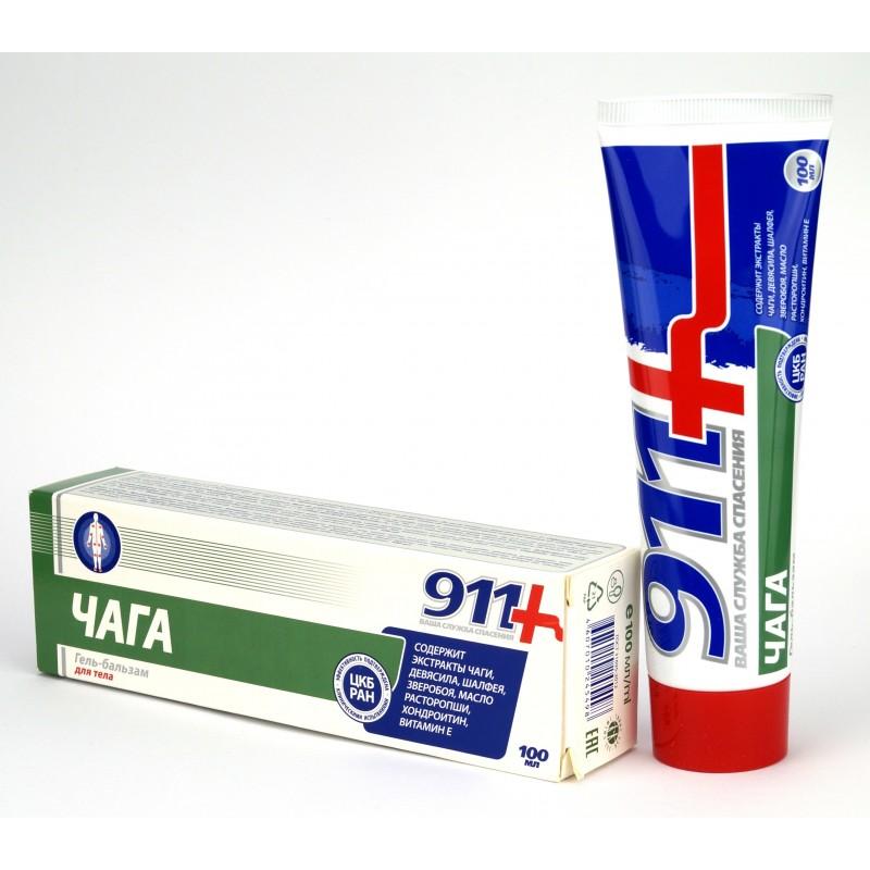 Twinstec 911+ Čaga kozmetický krém balzam na kĺby 100 ml