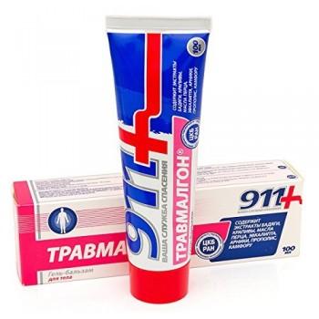 Twinstek 911+Travmalgon kozmetický krém balzam na telo 100ml