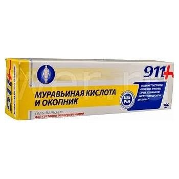 Twinstek 911+ Gél na kĺby s kyselinou mravčou a kostihojom 100ml