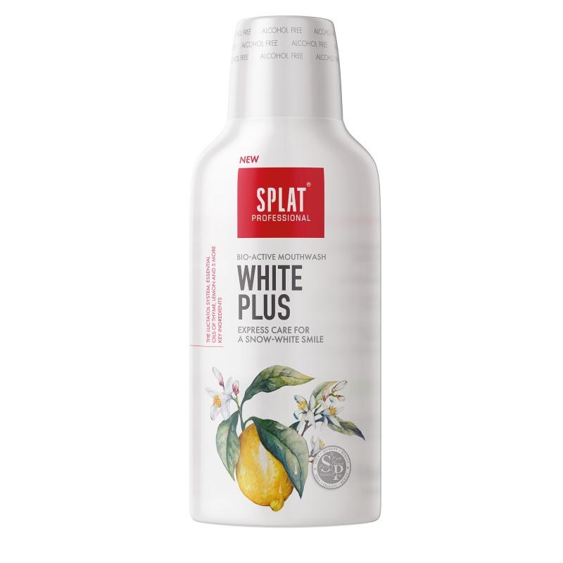 Splat Professional WHITE PLUS ústna voda, 275ml