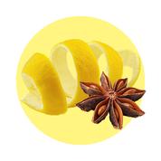 Prírodný olej z citrónovej kôry a anízu má protizápalové účinky.